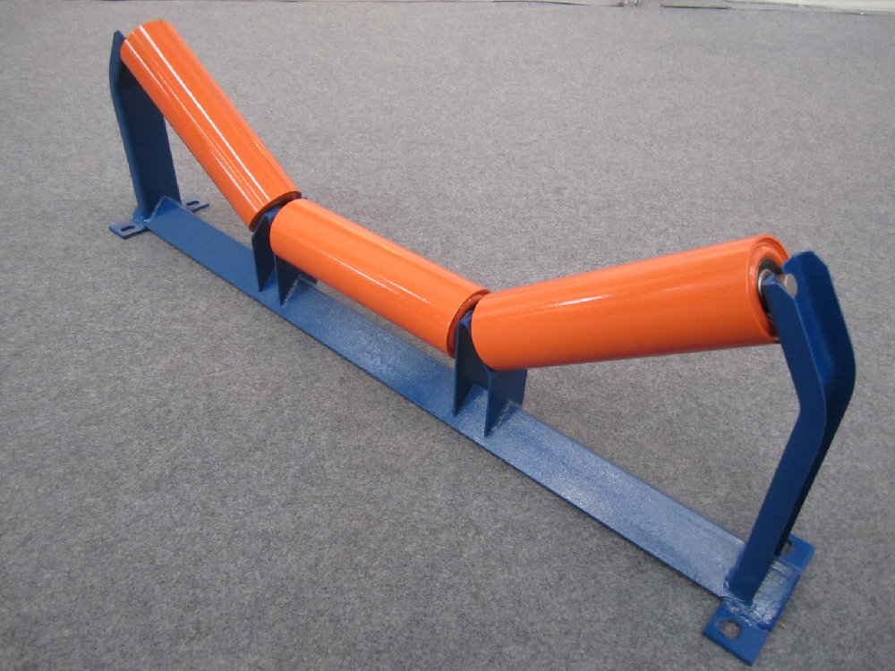 Conveyor roller and frame